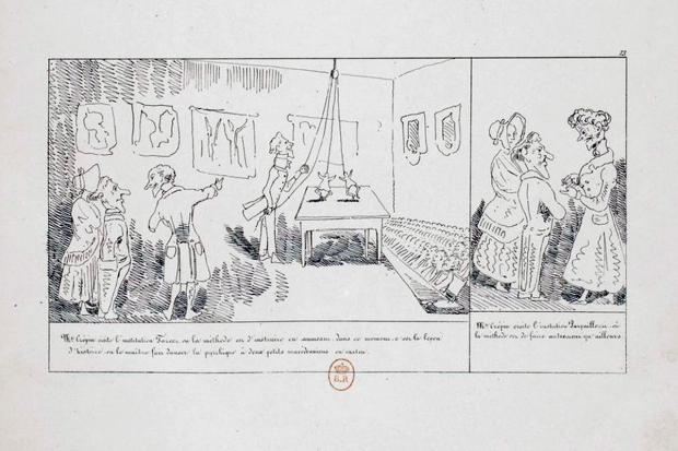 Rodolphe Töpffer. Histoire de Mr Crépin. 1837. Gallica.