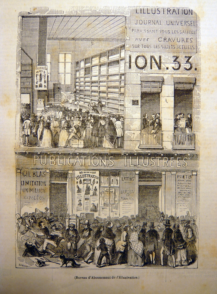 L'Illustration. 02 March 1844.